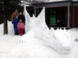 Snow Smaug